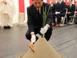 第126回愛知県農業祭献穀事業 地鎮祭を行いました