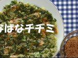 「なばなチヂミ」のレシピを公開しました