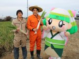 中京テレビ「キャッチ!」で越津ねぎが紹介されました