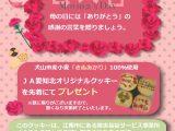 「母の日」プレゼントのお知らせ