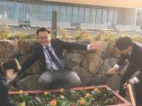 色鮮やか300株 犬山支店 花壇整備