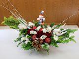 フレッシュミズ愛ちゃんカレッジ「クリスマス寄せ植え・リースづくり」