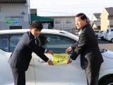 地域貢献 JA愛知北「地域の安心安全見守り隊」出発式