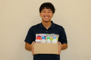 A愛知北 小岩友美子 農家応援!レジ袋有料化に伴い農薬購入者へダンボール製の農業箱をプレゼント