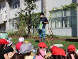 岩倉支店営農生活課 岩倉東小学校で栽培指導