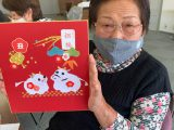 女性部江南支部が「ちぎり絵づくり」を開催しました