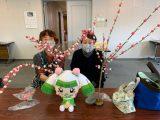 女性部江南支部が「花もちづくり」を行いました