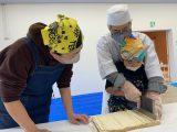 Let`sチャレンジ!親子農業体験「うどん作り体験」を開催しました