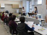 女性部犬山南部支部「みつる園健康教室」を開催しました