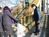 羽黒支店職員が支店周辺の清掃活動をおこないました