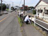 草井支店職員が支店周辺の清掃活動を行いました